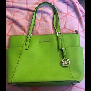Neon green Michael Kors purse!